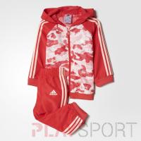 Sports hooded jogger