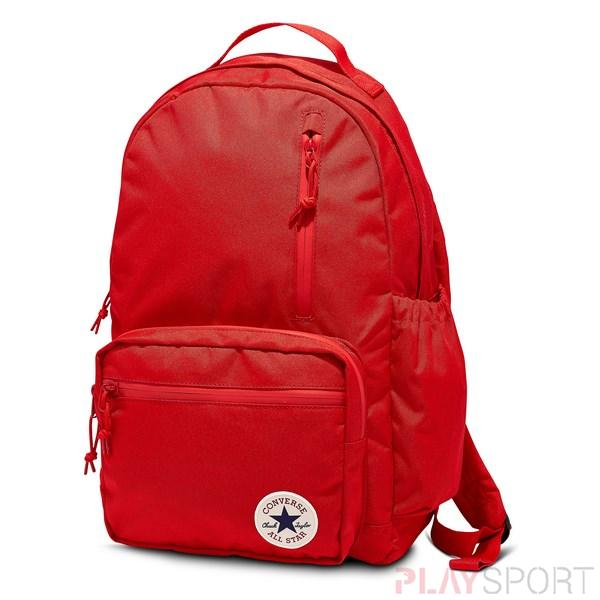 GO BACKPACK ENAMEL RED/POMEGRANATE RED